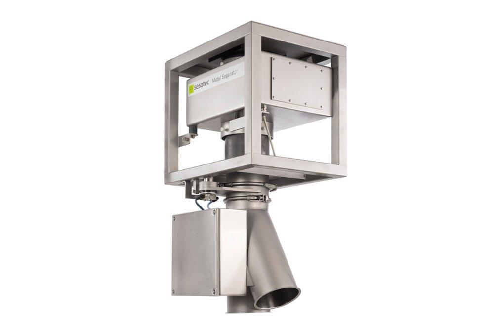 Periferní zařízení ke vstřikovacím strojům - separace