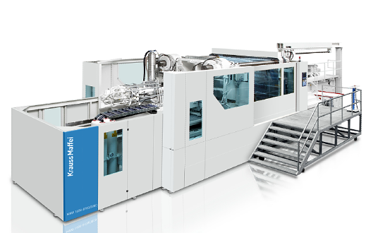 Veľké vstrekovacie stroje KraussMaffei MX
