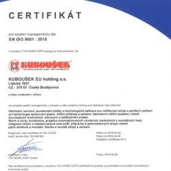 Certifikace ISO