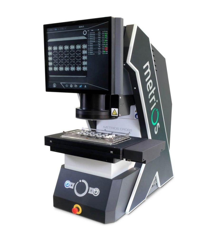 Metrios Cross - optický měřicí přístroj