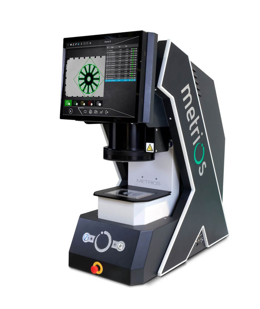 Metrios - optický měřicí systém