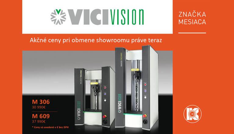 Meracie prístroje VICIVISION za jedinečnú cenu