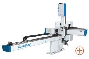 Kompaktní lineární roboty KraussMaffei LRX - Kompaktní a lehké nové osy zápěstí
