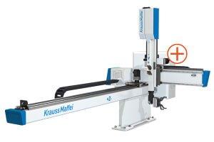 Kompaktní lineární roboty KraussMaffei LRX - Nová koncepce ovládací skříňky zajišťuje vysokou dostupnost