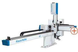 Kompaktní lineární roboty KraussMaffei LRX - Nová koncepce pro vysokou bezpečnost