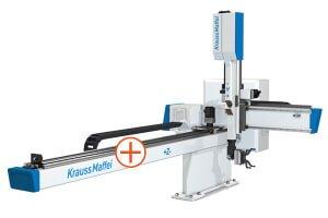 Kompaktní lineární roboty KraussMaffei LRX - Působivá přesnost díky pohonu ozubenými hřebeny