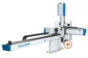 Kompaktní lineární roboty KraussMaffei LRX - Vyšší účinnost díky digitálnímu řízení vakua s funkcí úspry vzduchu