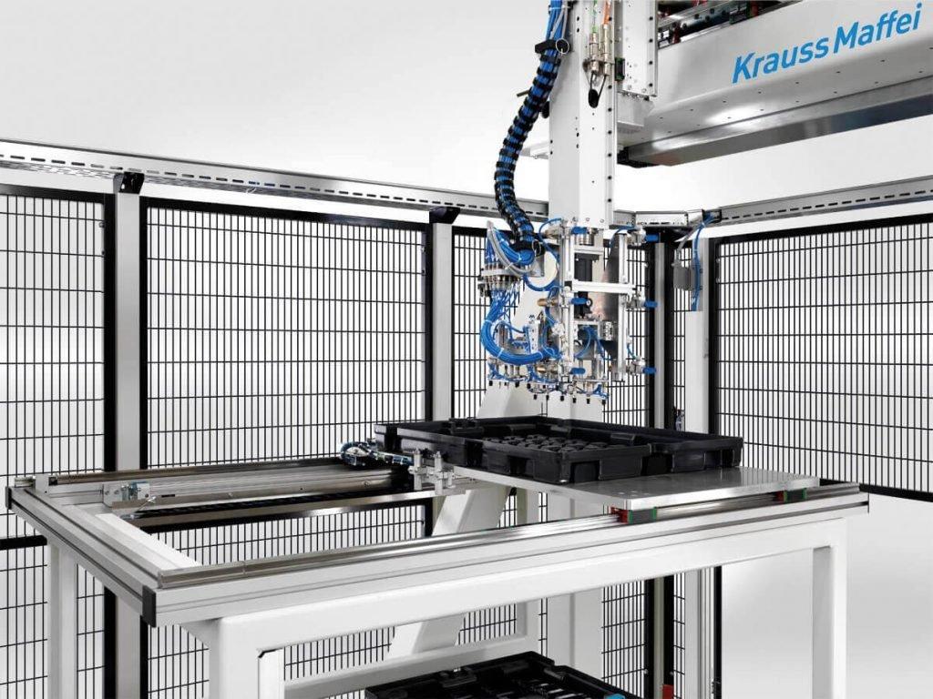 Lineární roboty KraussMaffei LRX